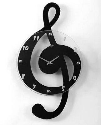 relogio musica